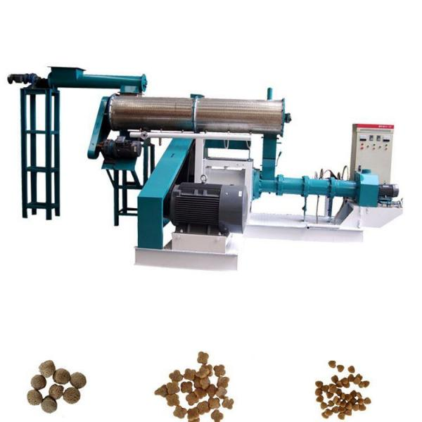 Automatic Extruded Pet Cat Dog Food Feed Pellet Making Machine